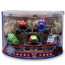 Cars Disney Monster Truck. Disney Store.