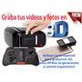 Lentes 3d Realidad Virtual, Graba Tus Videos Y Fotos En 3 D