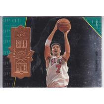 1998-99 Spx Finite Star Power Toni Kukoc Bulls /5400