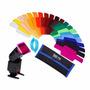 20 Filtros De Color Para Flash Speedlight Geles Selens