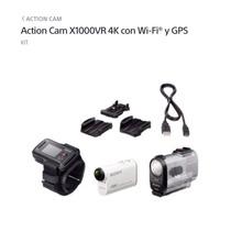 Sony Action Cam Fdr-x1000vr 4k Con Wi-fi Y Gps