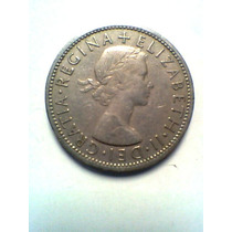 Two Shillings Año 1957 Moneda Inglesa