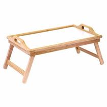 Bandeja Desayunador Para Cama De Bambú