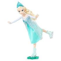 Disney Helado Hielo Patinaje Elsa Doll