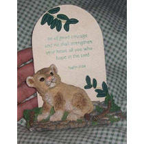 Hermoso Adorno Del Salmo 31 Cristianos Regalo Ceramica Hm4