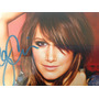 Fotografia Autografiada Por Ashley Tisdale, 5x7