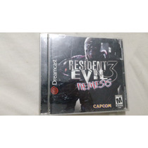 Sega Dreamcast - Resident Evil 3 Nemesis