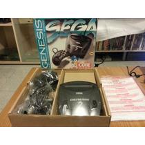 Consola Sega Genesis 3 Completa Como Nueva En Caja