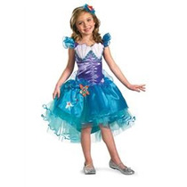 Disfraz De Ariel, Sirenita, Princesas De Disney Para Niñas