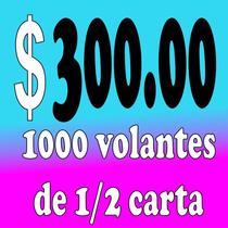 Volantes Publicitarios, 1000 Volantes, Flayers, Publicidad