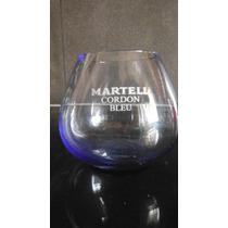 Vaso Martell Cordon Bleu Cognac De Lujo Francia Bar Cantina