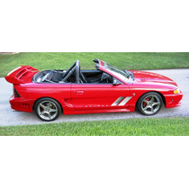 Estribos Ford Mustang Saleen 94 Al 98 Fibradevidrio