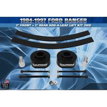 Lift Kit Delantero Y Trasero Para Ford Ranger 84-97