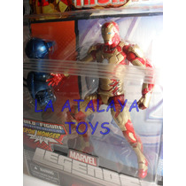 48l Iron Man Mark 42 Marvel Leyends Serie Monger Completo