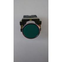 Boton Pulsador Verde 22mm