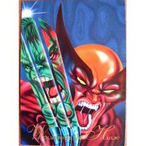 Wolverine Hulk / Marvel Comics Pepsi Cards 25 / Tarjetas