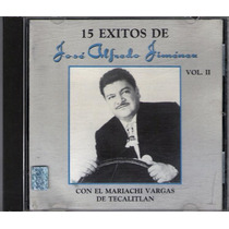 Jose Alfredo Jimenez Cd 15 Exitos 1989