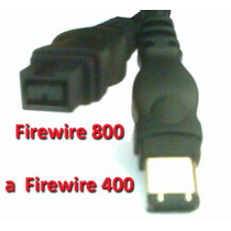 Cable Convertidor Firewire 800 A Firewire 400 3 Pies
