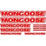 Jgo De 9 Calcomanias Para Bicicleta Mongoose