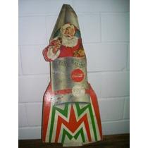 Antiguo Anuncio Coca Cola Santa Claus Navidad Año 1950 S Vbf