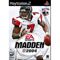 Ea Sports Madden Nfl 2004 Ps2 Ps3