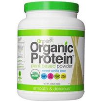 Base De Plantas Orgain Orgánica Protein Powder Vanilla Bean