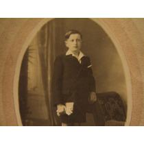 1920 Fotografia Antigua Guapo Joven Niño Primera Comunion?