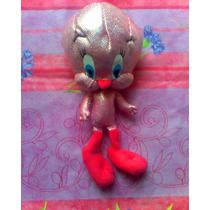 Looney Tunes Peluche De Piolin Rosa Metalizado