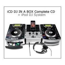 Paquete Completo Numark Icd Dj In A Box, 2 Ndx 200, Y Mixer
