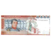 5000 Pesos 1985 México Niños Heroes Castillo Chapultepec Hm4