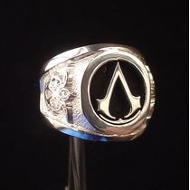 Anillo Assassins Creed Videojuego Plata Metallicraft Mn4