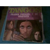 Disco Acetato De Tangos Franck Pourcel Y Su Orquesta