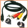 Cable Audio Video Vmc-15fs P/ Video Camaras Sony Dcr-hc46