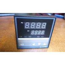 Pirometro O Control De Temperatura Con Alarma Por Relay