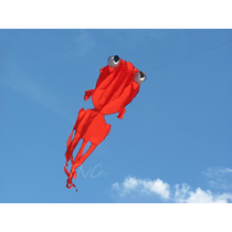 Kite Papalote 3d Goldfish De 3.3 Mts De Largo