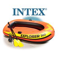 Bote O Lancha Inflable 3 Personas Intex Explorer 300