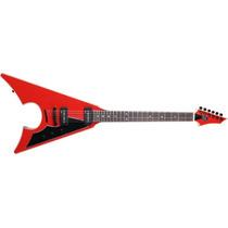 Guitarra Axl Blood Jacknife Somex-011rd Estuche Meses S/int!