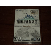Final Fantasy Xi On Line +rise Of The Zilart Expansion Pack