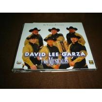 David Lee Garza Y Los Musicales -cd-me Vuelvo A Enamorar Pyf