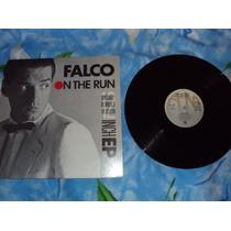 Falco On The Run 12 Remixed Lp Importado