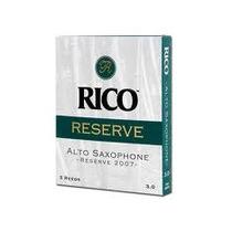 Cañas Sax Alto 3 1/2 Rico Royal Mod Sarr3-1/2(10)