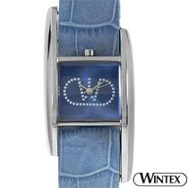 Reloj Wintex Rialto Italia, Dama Piel Acero Y Priedras 3 Sp0