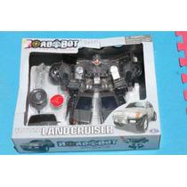 Sp0 Transformers Land Cruiser Con Luces Y Sonido Rgl
