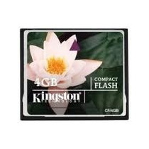 Util Memoria Compact Flash Kingston 4gb (empaque) Vv4