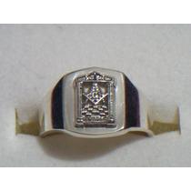 Anillo Masonico Templo Para Aprendiz