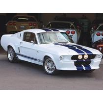 Defensa Delantera Mustang 1967-1968 Y Partes Relacionadas