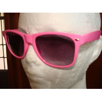 Fashion Lentes Retro Color Rosa Moda Vintage Mn4 $