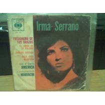 Disco Acetato Chico 45rpm Irma Serrano