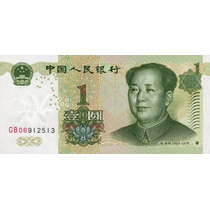 Grr-billete De China 1 Yuan 1999 - Mao Tse Tung