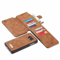 Cartera 2en1 Carcasa Piel Galaxy S7 Edge Celular Billetera